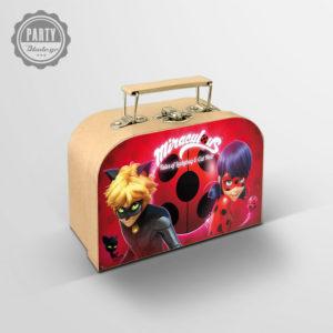 Δώρο για πάρτι βαλιτσάκι Ladybug