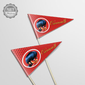 Ladybug Party Stick Τρίγωνα