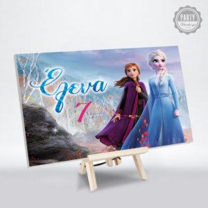 Frozen 2 διακοσμητικό καβαλέτο για πάρτι