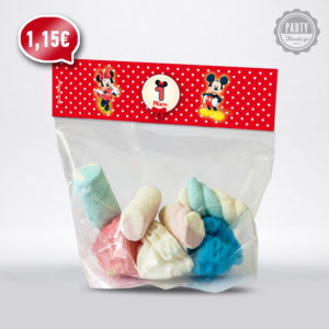 σακουλακι ζαχαρωτων Μικυ και Μινυ Μαους